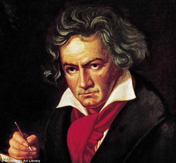 Beethoven compôs a Nona Sinfonia.