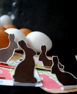A tradicional festa da Páscoa, associa-se a alguns símbolos, como o ovo e o coelho.