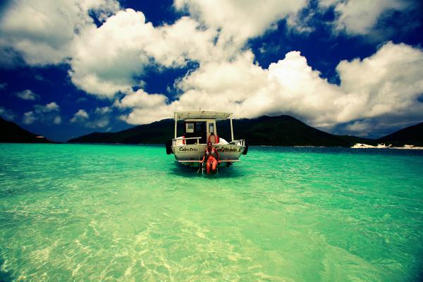 Búzios é um paraíso brasileiro.