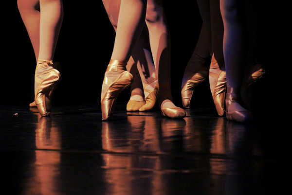 As sapatilhas de ponta são o sonho de qualquer bailarina.