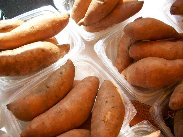 A batata doce é uma ótima fonte de energia.
