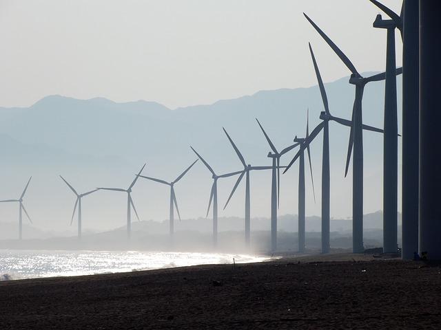Energia eólica no Brasil represente cerca de 0,4%