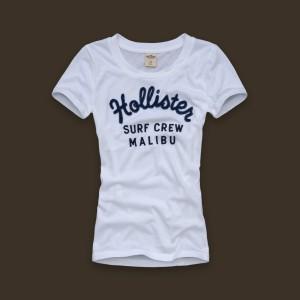 Blusa modelo para revenda em sites oficiais da Hollister.