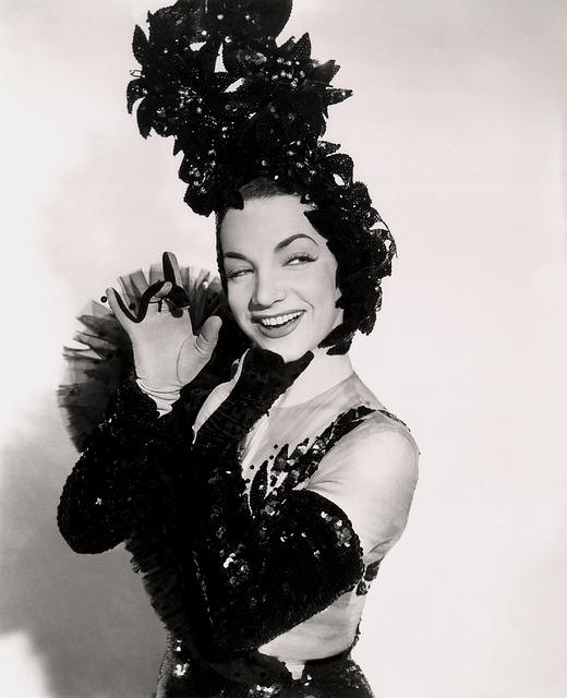 A brasileira Carmen Miranda foi uma das atrizes mais bem pagas de Hollywood na metade do século XX (foto: reprodução)