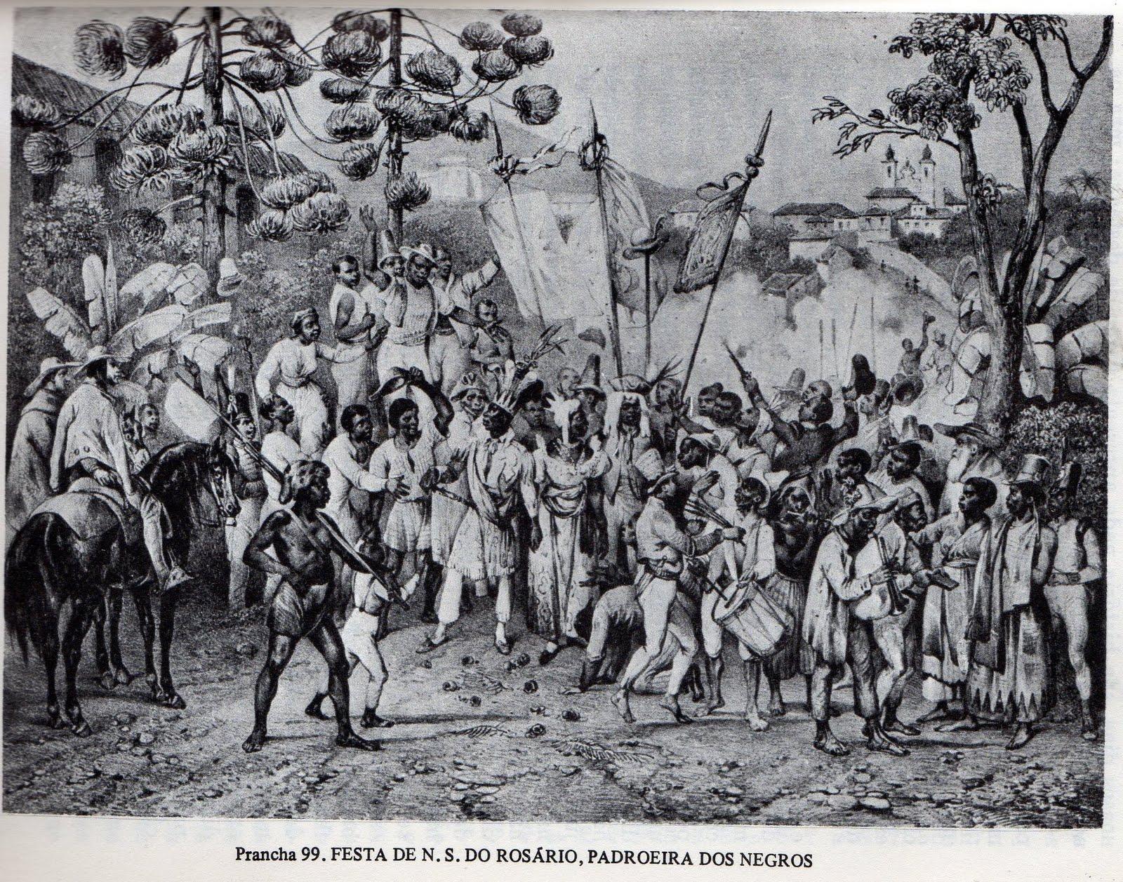 Festividade carnavalesca na colônia brasileira.