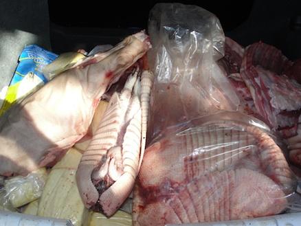 Carne de tatu