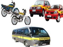 veículos para aulas de condução