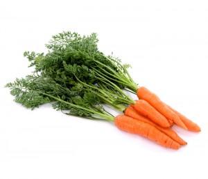 A cenoura reduz as chances de se ter um AVC.