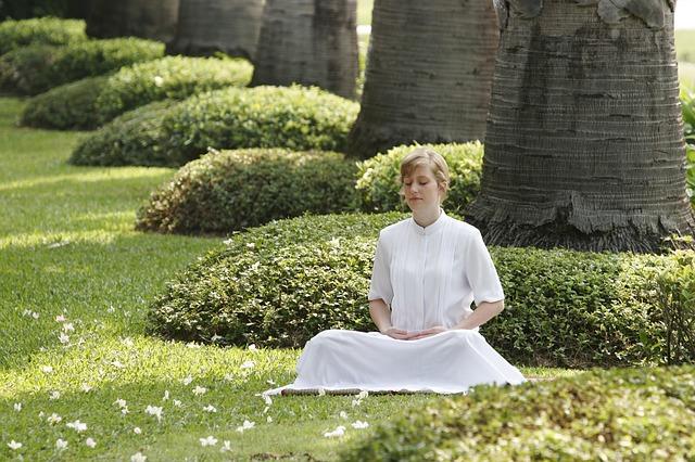 A meditação é uma ótima aliada.