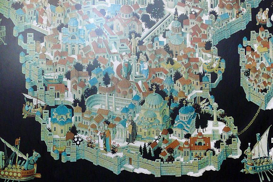 Constantinopla: viria a ser a segunda capital do império romano (foto: reprodução)