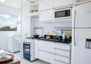 Cozinha branca (Foto: Reprodução)