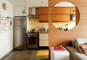 Cozinha bege (Foto: Reprodução)