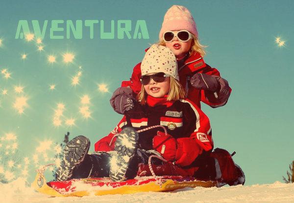 Toda criança é uma aventureira.