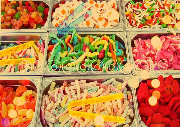 Toda criança adora doce!