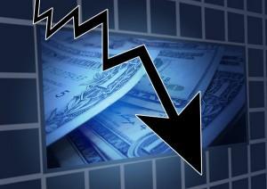 Efeitos da crise financeira em uma nação.