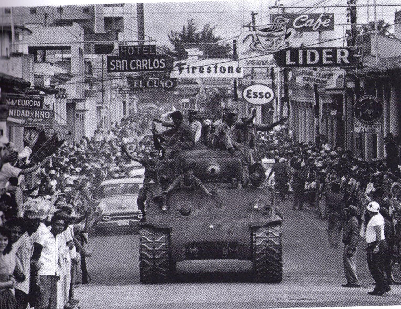 Cuba já na vitória da revolução