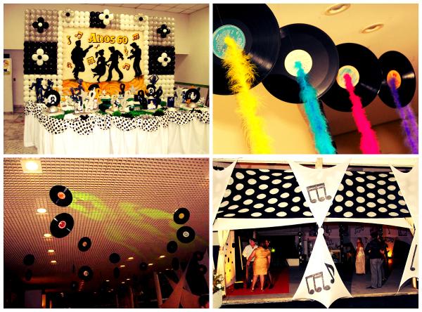 Decoração Festa Gospel anos 60, 70 e 80