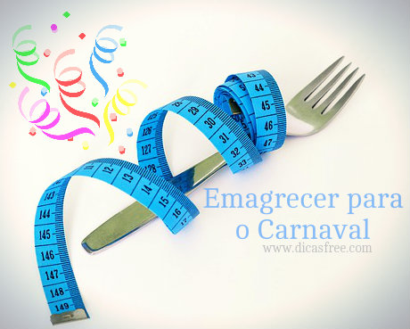 Dieta para secar até o carnaval.