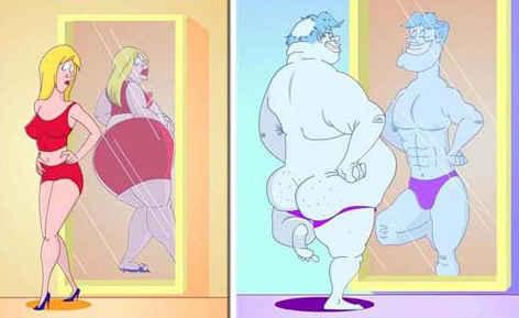 As diferenças entre os sexos são gritantes, eles possuem percepção diferentes não somente sobre o próprio corpo, como também ao cotidiano e acontecimentos diários