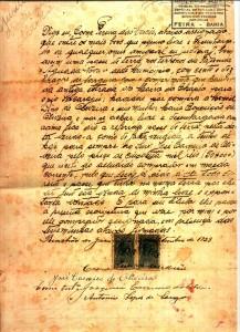 Os documentos históricos são uma das fontes de pesquisa.