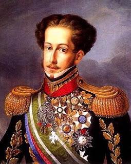 Dom pedro, primeiro imperador do Brasil.
