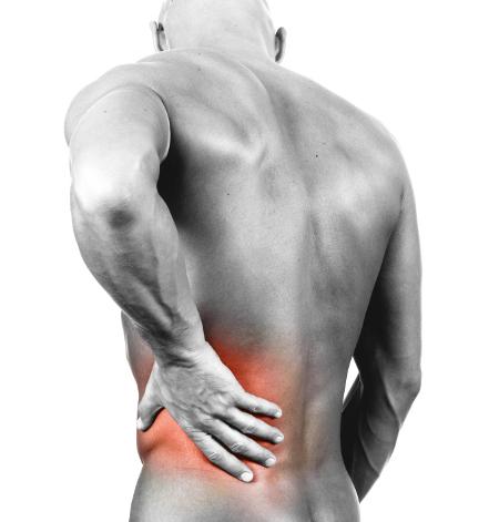 Um dos sintomas da doença são as dores lombares