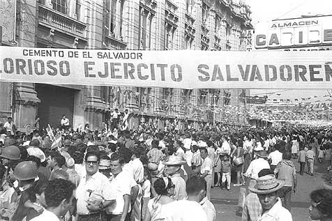 Contexto ditatorial em El Salvador