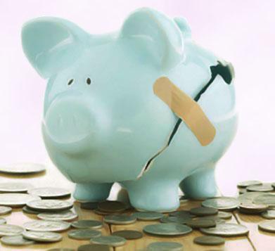 O procedimento de falência pode ser necessário para uma empresa com dívidas.