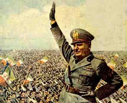 Fascismo de Mussolini
