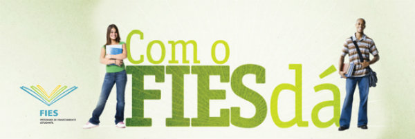 O FIES é um programa do governo que dá oportunidade ao estudante brasileiro.