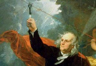 Experiência de Benjamin Franklin - Para Raios Resumo