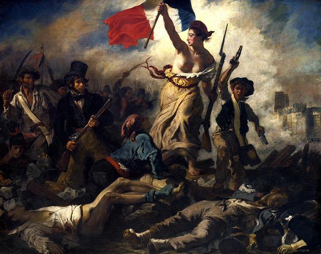 Famoso quadro retratando a Revolução Francesa (foto: reprodução)
