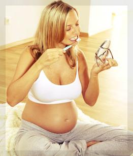 A gengivite é um problema muito comum durante a gravidez
