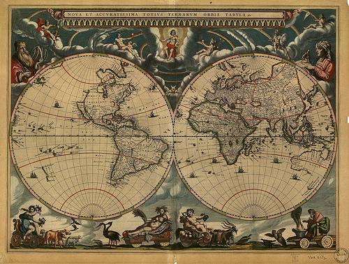 A globalização facilitou o contato de povos de diferentes culturas em grande parte do mundo (foto: reprodução)