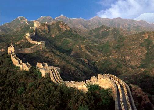 Grande Muralha - terminada na Dinastia Tung