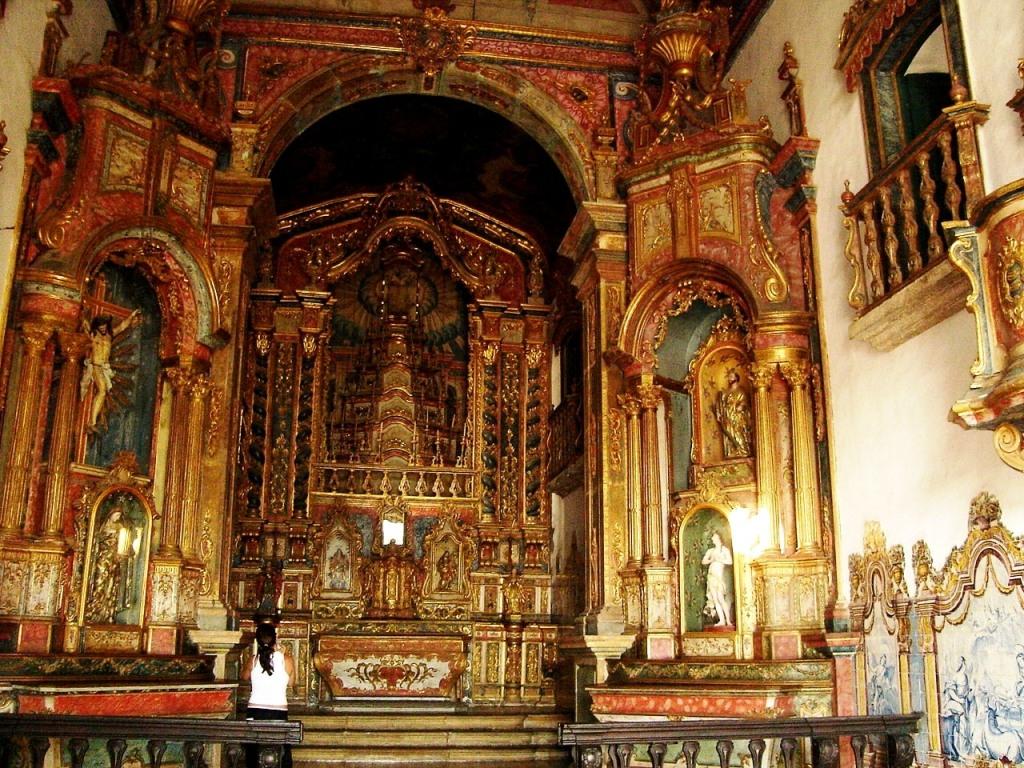 Igreja Barroca em Ouro Preto - MG