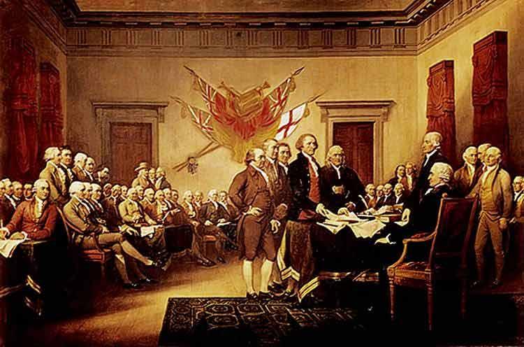 Declaração da independência