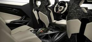 interior carro Urus