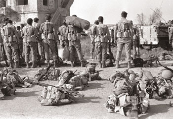 Tropas Israelenses no conflito de Yom Kippur