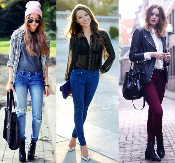 O jeans é o único tecido usado diariamente. Ele também pode ser usado para a confecção de qualquer tipo de roupa e sapatos!