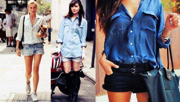 Os looks jeans são especiais para passeios diários.