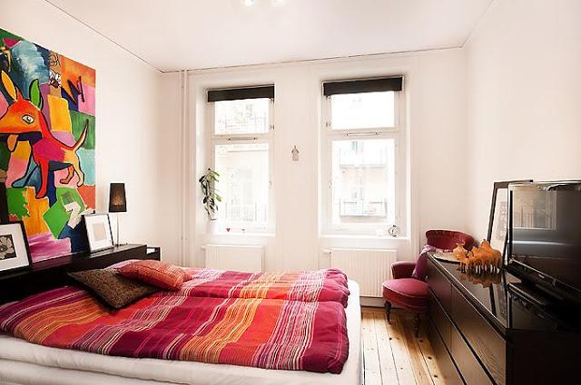 OS quartos também podem ganhar uma roupagem colorida