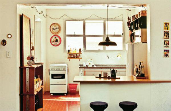 Decoração de cozinha.