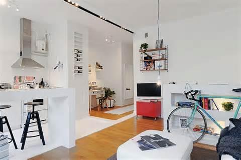Para obter mais espaço numa kitnet, você precisará equilibrar o ambiente de sua casa.