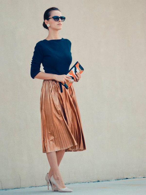 Look anos 60 elegante (Foto: Reprodução)