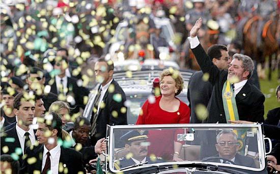 Posse do presidente Lula (foto: reprodução)