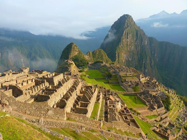 Ruínas da cidade sagrada de Machu Picchu (foto: reprodução)