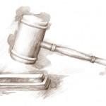 O mandado acontece perante ordem judicial.