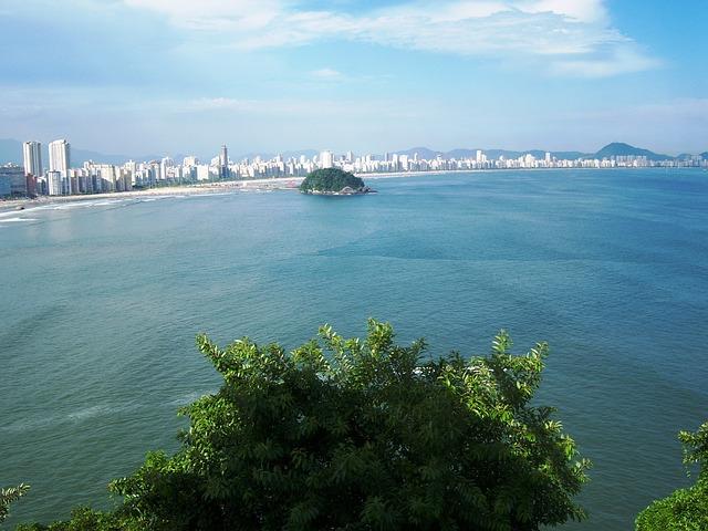 Atual cidade de São Vicente (foto: reprodução)