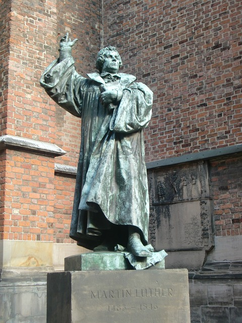 Estátua de Martinho Lutero na Alemanha